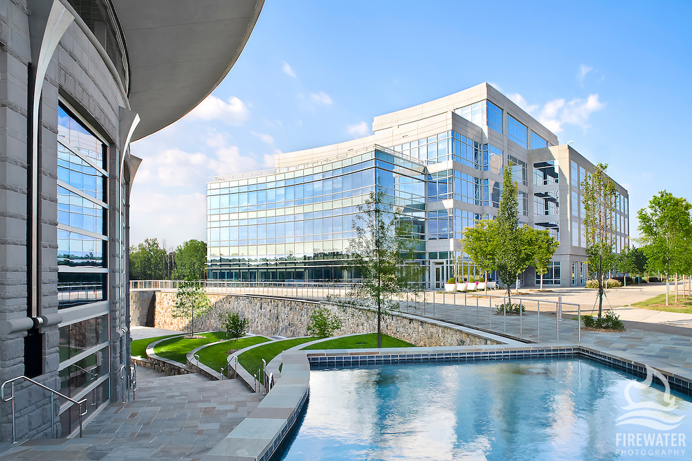 Td bank corporate campus firewater photography for Architects greenville sc