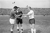 1964 - Soccer International: Ireland v England at Dalymount Park
