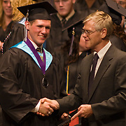 06/04/10 - Wilmington, DE - Cab Calloway High School Student Andrew Zaldivar receives his Diploma during graduation Ceremony at the Grand Opera House in Wilmington on Friday, June 4, 2010..Special to The News Journal/SAQUAN STIMPSON