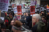 UK: march against bombing Syria