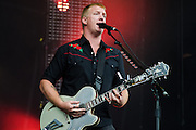 Josh Homme of Queens of the Stone Age at Lollapalooza