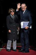 Princess Margriet and Pieter van Vollenhoven of The Netherlands attend an diner for the Cors Diplomatique at the Royal Palace in Amsterdam, The Netherlands, 25 June 2015. cOPYRIGHT ROBIN UTTRECHT