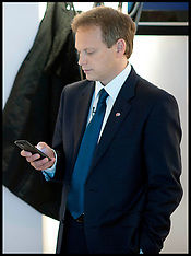 OCT 07 2012 Grant Shapps on his Mobile