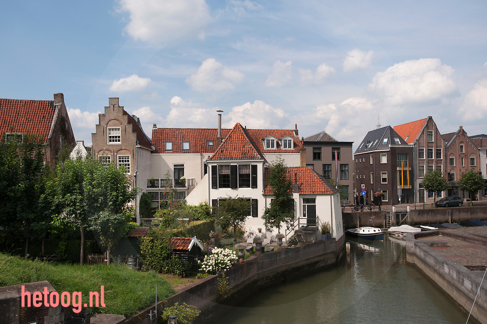 The Netherlands, Nederland lek, schoonhoven 19aug2015 oude haven van Schoonhoven