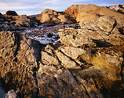AA00847-01...UTAH - Sandstone bedrock on the open hills of Dinosaur National Monument.