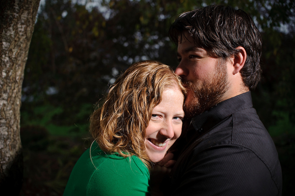 (photo by Matt Roth).Sunday, October 3, 2010..Grant Thomas and Marie Stelzer engagement photos.
