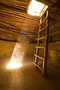 Spruce Tree House Kiva, Mesa Verde, ladder