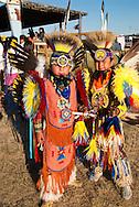 Kids, Traditional Dancers, Milk River Indian Days Pow Wow, Fort Belknap Indian Reservation, Montana