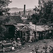 Sarajevo - 22 July 2013 - According to Ismet,  most of Roma family can't afford to pay a rent, they squat these buildings who are apparently abandoned.