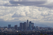 Winter Storm Hits Los Angeles