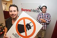 Executives of Barons Media.