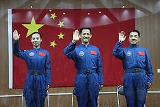JUNE 10 2013 Astronauts: Shenzhou-10