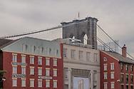 Broooklyn Bridge, South Street Seaport New York City, New York, USA