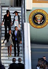 JUNE 18  2013 Barack Obama Berlin Arrival