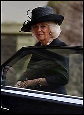 SEP 11 2014 Duchess of Cornwall attends Mark Shand Memorial