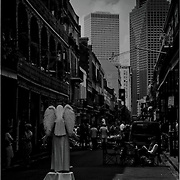 Angel of the French Quarter, New Orleans, Louisiana