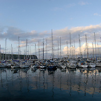 Horta harbour Faial Island; Azores Islands, Portugal, North Atlantic Ocean ( sailing boats sailor ocean transatlantic )&amp;#xA;&copy; KIKE CALVO &amp;#xA;<br />