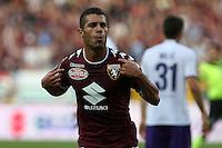 02.10.2016 - Torino - Serie A 2016/17 - 7a giornata  -  Torino-Fiorentina  nella  foto: Iago Falque esulta dopo il gol