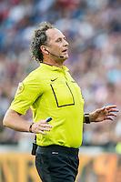 ROTTERDAM - Feyenoord - Valencia , Eredivisie, Voetbal, Seizoen 2016-2017, Feyenoord stadion de Kuip23-07-2016 , Scheidsrechter Reinold Wiedemeijer leid de wedstrijd