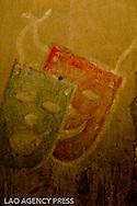 Plusieurs oeuvres ont été gravés sur les murs.