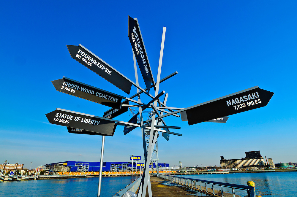 pier signs ikea red hook brooklyn new york city new york usa jake rajs photography. Black Bedroom Furniture Sets. Home Design Ideas