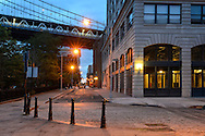American Nightscapes / DUMBO II<br /> <br /> DUMBO,Brooklyn,New York, USA, 2014