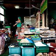 Deokpo Market, Busan, Korea, September 2010