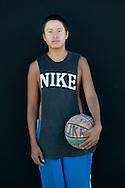 Jess Sunbear (Nike Shirt),Lakota, South Dakota,USA.model release 0131