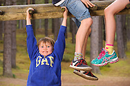 Play park, Roseisle, Aberdeenshire and Moray Forest District, Forestry Commission Scotland