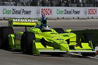 Ed Carpenter, Detroit Indy Grand Prix, Bell Isle, Detroit, MI  USA  8/31/08