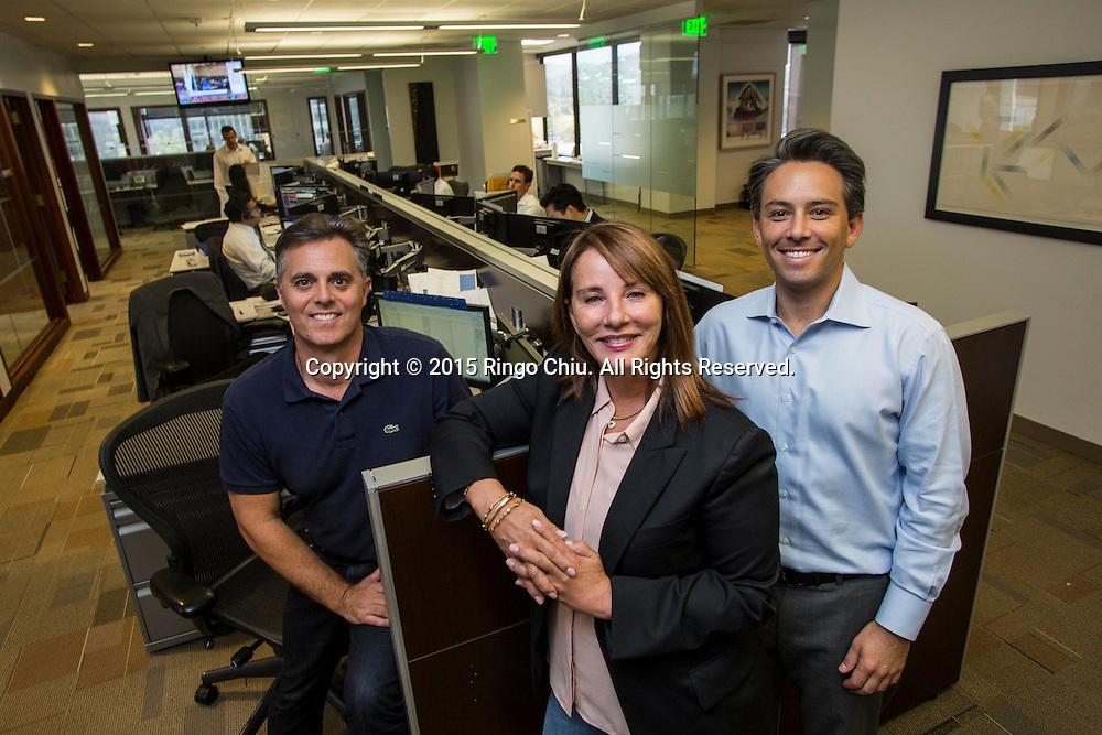 Rebecca Rothstein, center, managing director of Merrill Lynch.(Photo by Ringo Chiu/PHOTOFORMULA.com)