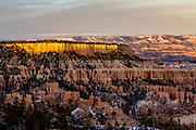 Sunset over Sunrise Point 2. Bryce Canyon, Utah
