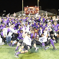Stagg Bowl XL: Postgame ceremony and news conferences