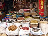 Photographs at a local market in Lijiang, Yunnan, China.