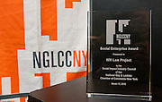 The NGLCCNY presented the First Annual Social Enterprise Award to HIV Law Project at the 19th Annual GLBT Expo on March 17-18, 2012 at the Jacob Javits Center in New York.