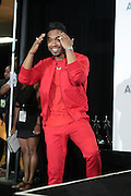 June 30, 2012-Los Angeles, CA : Recording Artist Miguel attends the 2012 BET Awards- Media Room held at the Shrine Auditorium on July 1, 2012 in Los Angeles. The BET Awards were established in 2001 by the Black Entertainment Television network to celebrate African Americans and other minorities in music, acting, sports, and other fields of entertainment over the past year. The awards are presented annually, and they are broadcast live on BET. (Photo by Terrence Jennings)