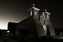 San Francisco de Asis church in Ranchos de Taos, New Mexico.