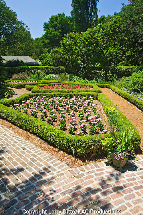 Elizabethan Gardens at Manteo, North Carolina