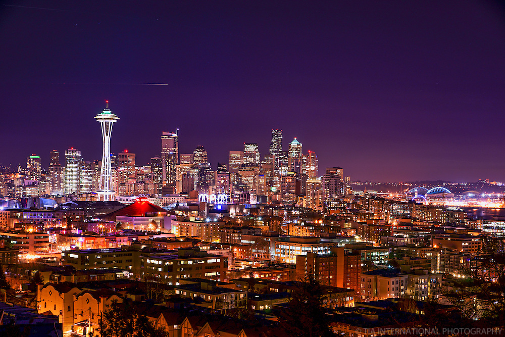 Downtown Seattle @ Night