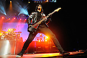Photos of Papa Roach performing at the Scottrade Center in St. Louis on December 13, 2009.