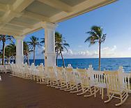 Florida, Fort Lauderdale,Pelican Grand Beach Resort, porch