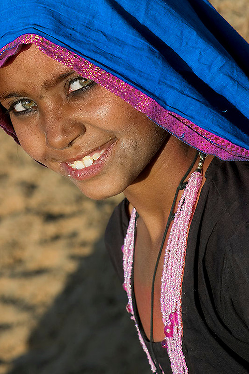 Mamtu, a Bhopa girl from Rajastha (India). Photos in this series taken between 2003 and 2010 with images from every year except 2009.