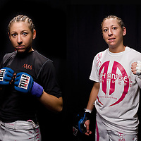 Jacksons MMA Series 7: WMMA fighter Diana Rael poses for Before and After images at the Hard Rock Casino in Albuquerque, NM.