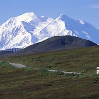 Mount McKinley, Kantishna Road, Denali National Park Preserve, Alaska, USA