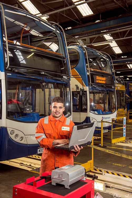 Stagecoach Apprenticeship, Manchester<br /> &copy;Stonehouse Photographic