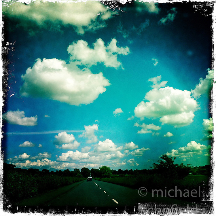 Clouds..Hipstamatic images taken on an Apple iPhone..©Michael Schofield.