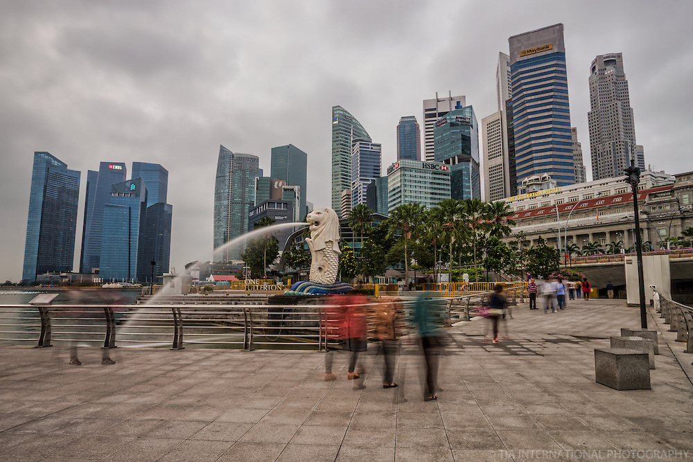 Merlion Park, Downtown Singapore