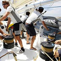 GP de Marseille en multicoques. Onboard Gitana 12