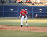 Ole Miss shortstop Kevin Mort vs. Louisiana-Monroe at Oxford-University Stadium in Oxford, Miss. on Friday, February 19, 2010.