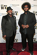 November 2, 2012- New York, NY: (L-R) Recording Artist/Actor Tariq Trotter of the ROOTS and Recording Artist/Music Journalist Questlove of the ROITS at the Ebony Power 100 Gala Presented by Nationwide held at Jazz at Lincoln Center on November 2, 2012 in New York City. The EBONY Power 100 Gala Presented by Nationwide salutes the country's most influential African Americans. (Terrence Jennings)